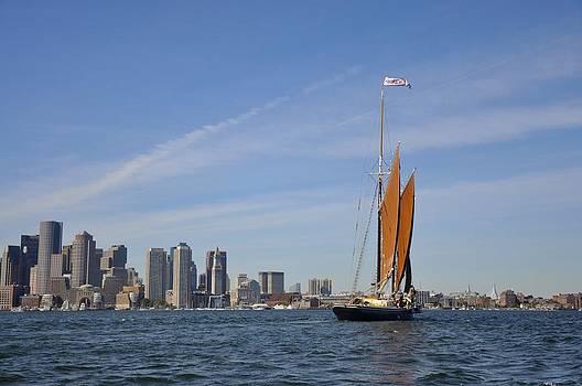 Boston Long Boat. by Keith Harkin
