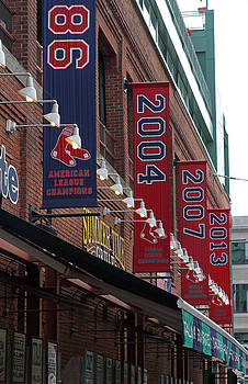Juergen Roth - Boston Red Sox 2013 Championship Banner