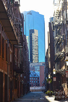 Boston Side Street by Christian LeBlanc