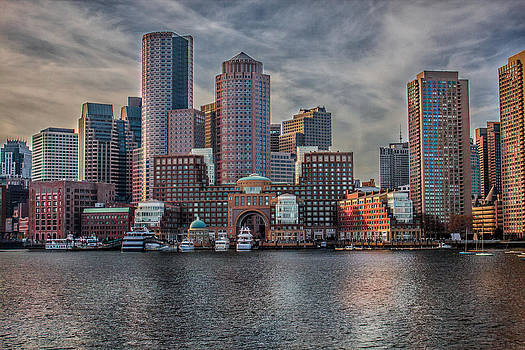 Elvira Pinkhas - Boston Skyline