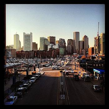 Boston Skyline #iphone #iphoneonly by Corey Sheehan