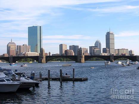 Boston Skyline by Jason Clinkscales
