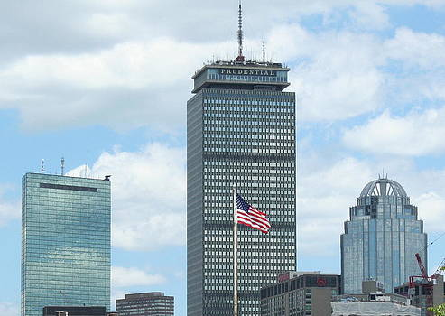 Boston Strong Skyline by Stephen Melcher