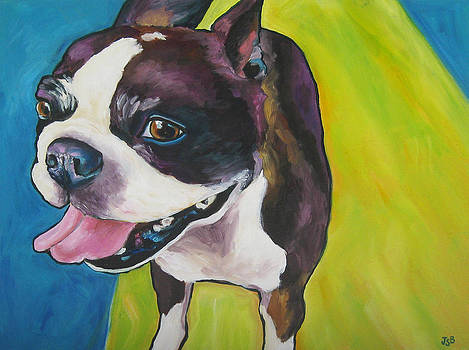 Janet Burt - Boston Terrier - Bubba