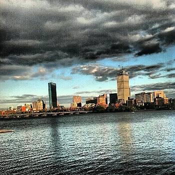 #bostonfromcambridge by James Hamilton