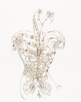 Botanicalia Cinnabar-Sold by Karen Robey