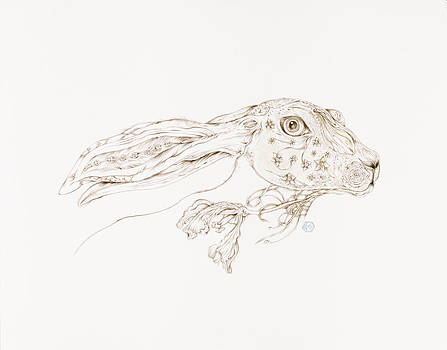 Botanicalia Jack Rabbit-Sold by Karen Robey