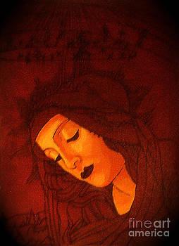 Genevieve Esson - Boticelli Madonna Vignette