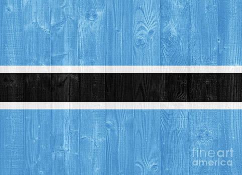 Botswana flag by Luis Alvarenga