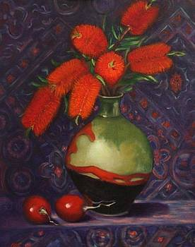 Bottlebrush by Mary Ann Fox