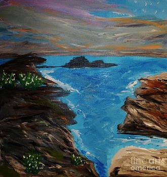 Boulders in the Sea by Marie Bulger