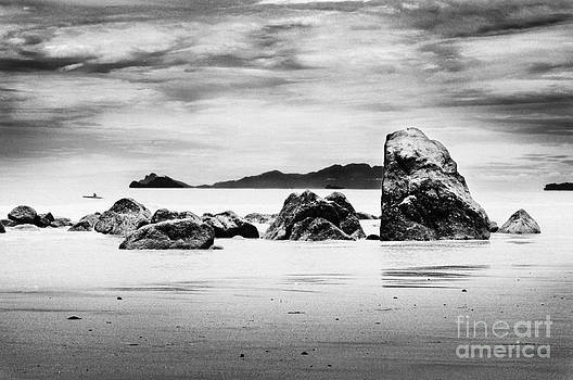 Boulders On The Beach by William Voon