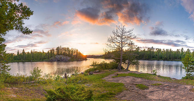 Boundary Waters Camp by Christopher Broste