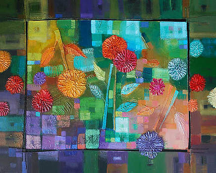 Bouquet of colors by Farhan Abouassali