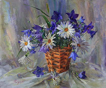 Bouquet of flowers collected in July by Galina Gladkaya