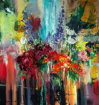 'Bouquet of Flowers' by Ewa Czarniecka