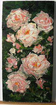 Bouquet of Pink Roses  by Florin Alexandru