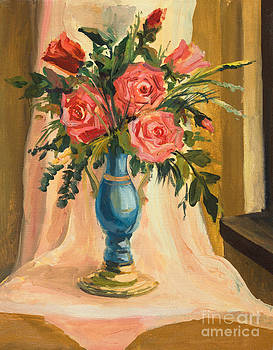 Bouquet of red roses by Kiril Stanchev