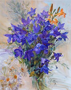 Bouquet Of Wild Flowers by Galina Gladkaya
