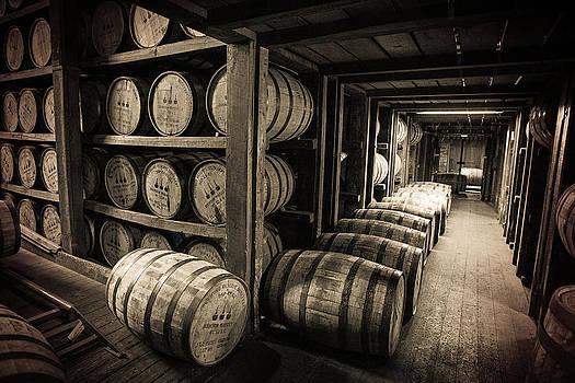 Bourbon Barrels by Karen Varnas