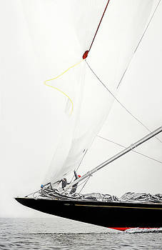 Bow and Sail by Mark Woollacott