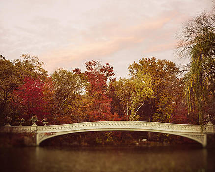Bow Bridge in Autumn by Irene Suchocki