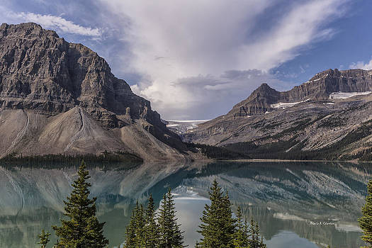 Bow River Parkway Glaciers and Lakes by Angela A Stanton