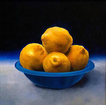 Bowl of Lemons by Anthony Enyedy