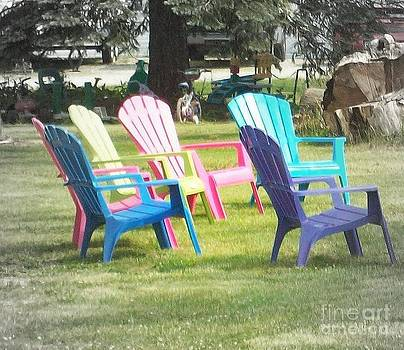 Bowling Green Chairs by Jackie Bodnar