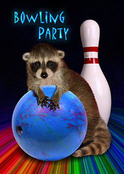 Jeanette K - Bowling Party Raccoon