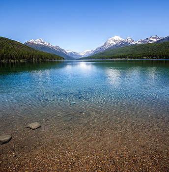 Bowman Lake by Aaron Aldrich