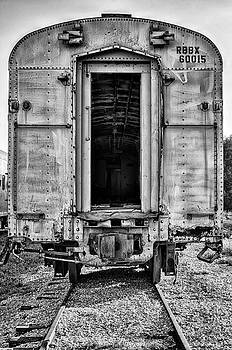 Box Car in BW by Michael White