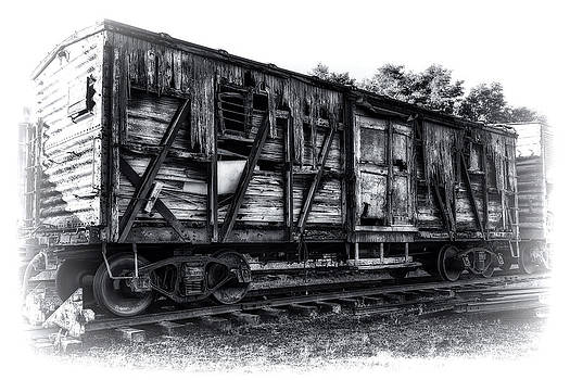 Box Car in High Key HDR by Michael White