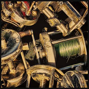 TONY GRIDER - Box of Vintage Reels