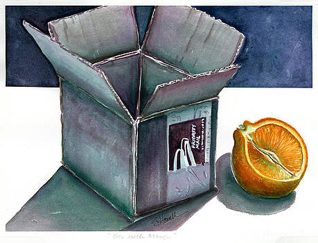 Box with Orange by Sandi Howell