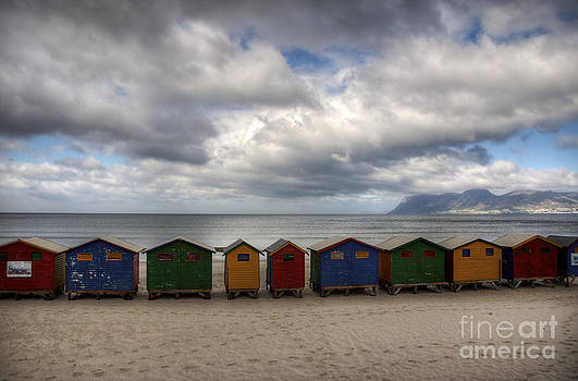 Boxes on the Beach by Barbara Youngleson