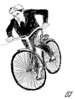 Boy and Bike 2 by Allen Forrest