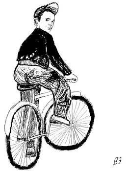 Boy and Bike 3 by Allen Forrest