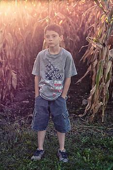 Boy by the Cornfield by LaTrice Dixon