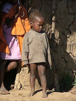 Boy from Masai Village by Judith Sweeney