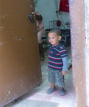 Ann Tracy - Boy in Doorway