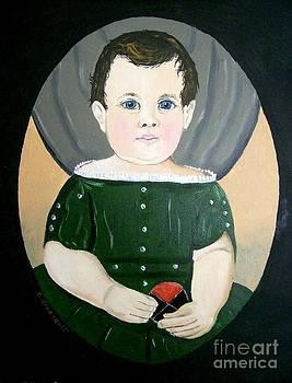 Boy In Green by Robert Arsenault