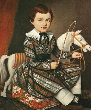 Boy In Plaid by Artist Unidentified