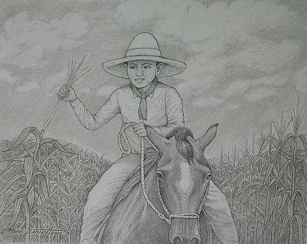 Boy on a Horse by Mark Barnett