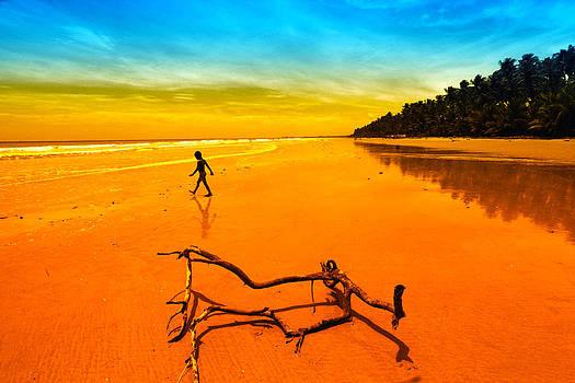Boy On Mayaro Beach by Dexter Browne