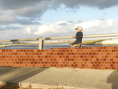 Grace Dillon - Boy on the Wall