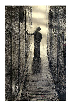 Boy waklin by Carvil Gunter