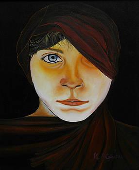 Boy With Hood by Ken Caffey