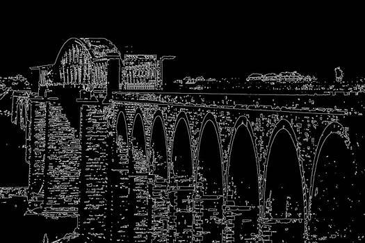 Charlie and Norma Brock - Boyne Viaduct