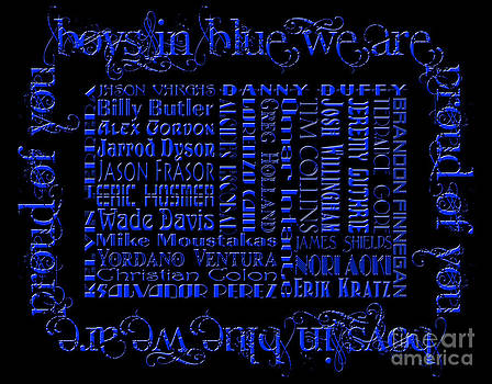 Andee Design - Boys In Blue We Are Proud Of You 2